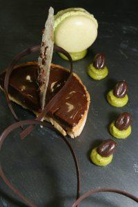 Traiteur mariage - dessert chocolat poistache